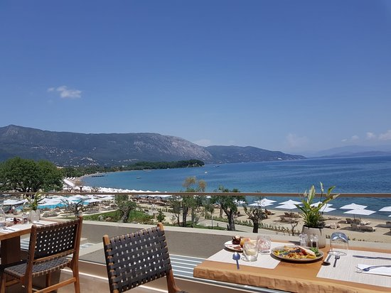 Ikos Dassia: View from Flavours in the Sea building