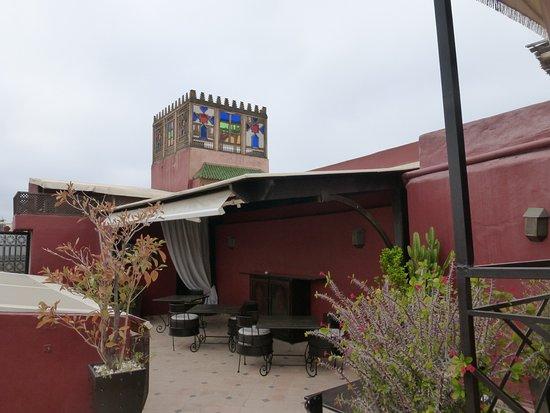 Riad Argan: Rooftop terrace