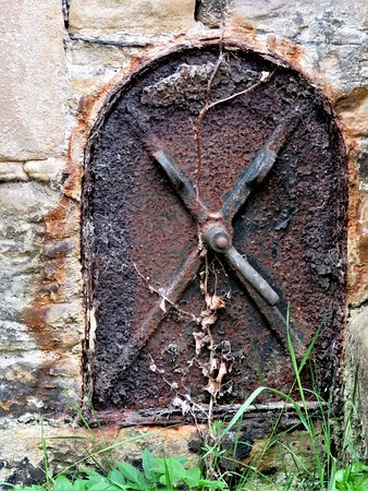 Crawford Priory: door