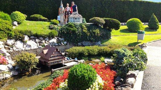 Melide, Schweiz: swissminiatur