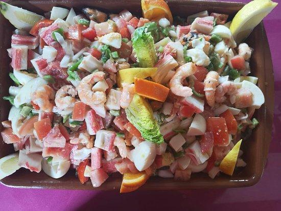 El Portesuelo Bar & Restaurant: Salpicón de pescado y marisco