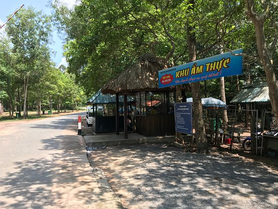 Cu Chi Tunnels: Walk towards this ticket counter. Purchase your ticket and walk in for about 10 minutes.