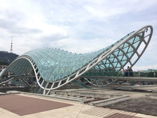 The Bridge of Peace: Bridge of Peace - East side