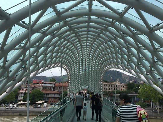 The Bridge of Peace: Pedestrian walk - Bridge of Peace
