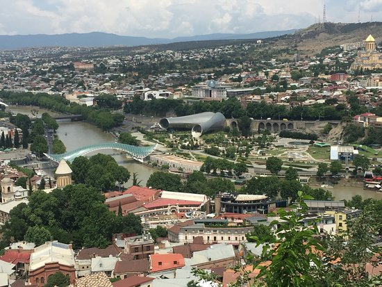 The Bridge of Peace: From Narikala Fortress - South-west Side