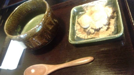 Kanmidokoro Shibafuku: お抹茶セット