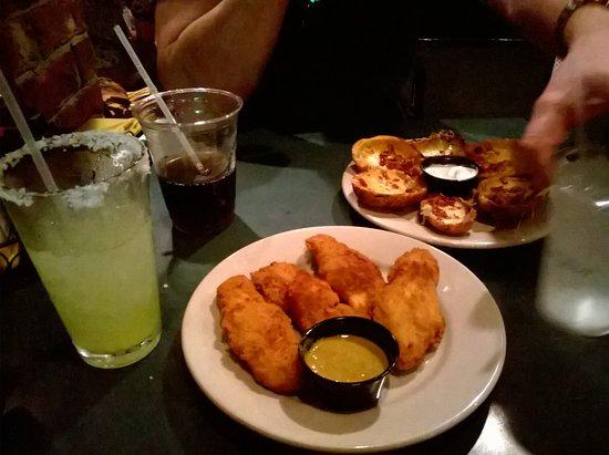 Murphy's: Chicken Tenders and Potatoes Skin