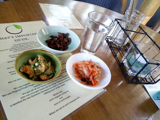 at Korean restaurant ROOTS