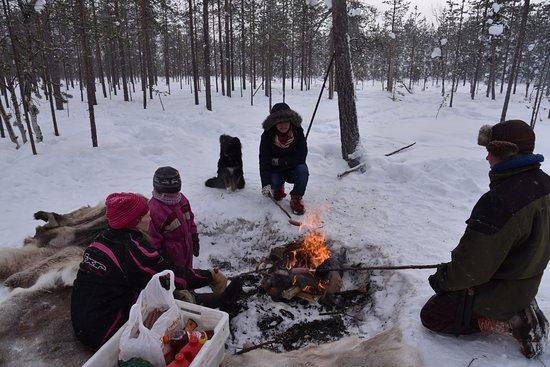 Orbas Reindeer Farm: BBQ