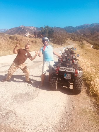 Nerja Quad Tours: karl and my dad