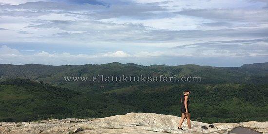 Ella Tuk Tuk Safari: secret waterfall tour