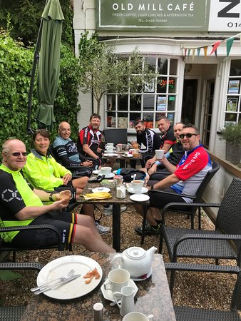 Old Mill Cafe: StS Spring Ride 2018 - Group 1