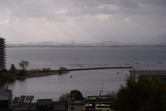 Biwako Hanakaido: 객실에서 바라보는 비와호