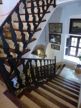 Son Marroig: Escalera interior