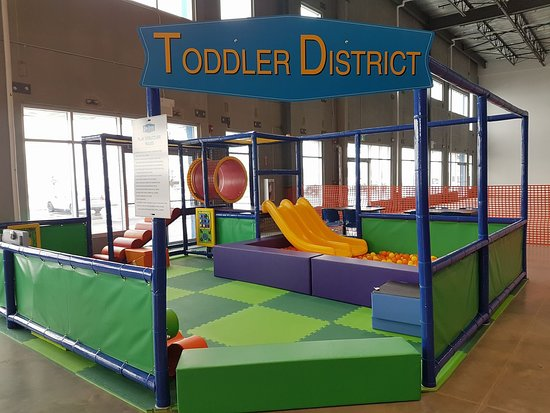 Jumble District Family Playground: Toddler play zone