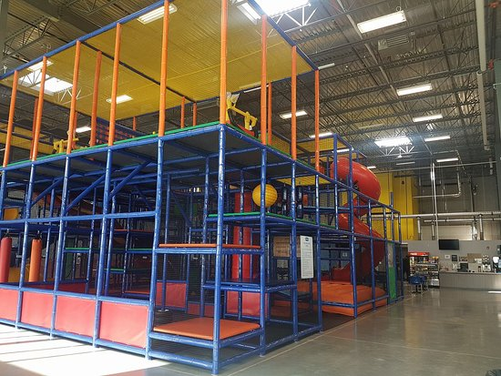 Jumble District Family Playground: Play structure