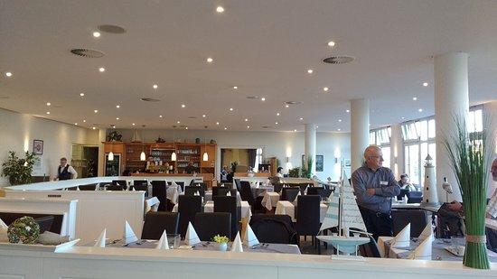 Fischerhaus Restaurant: De eetzaal op de eerste etage