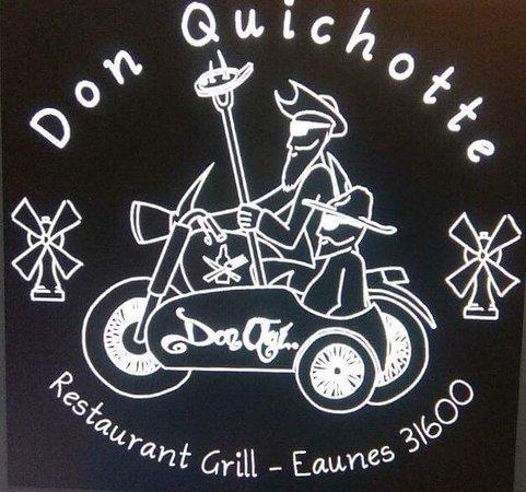 Le Don Quichotte: enseigne