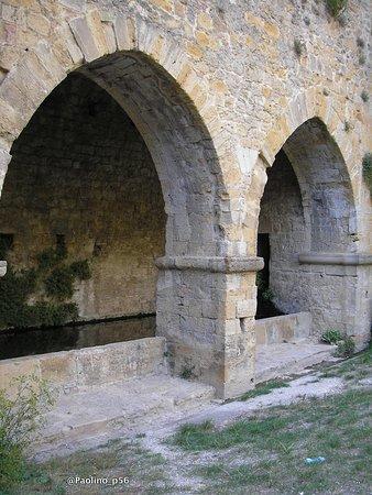 Fonte e porta san Felice : particolari fonte