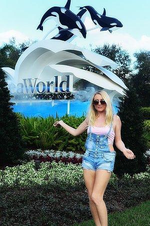 SeaWorld: Sea World sign