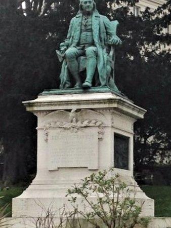Statue de Benjamin Franklin照片