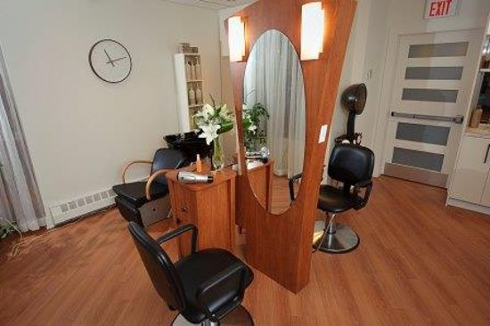 Lunenburg Arms Hotel : Hair Salon, located in our spa