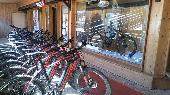 Philippe Sports ski and bike: PARC DE 30 VTT dont 22 ebike