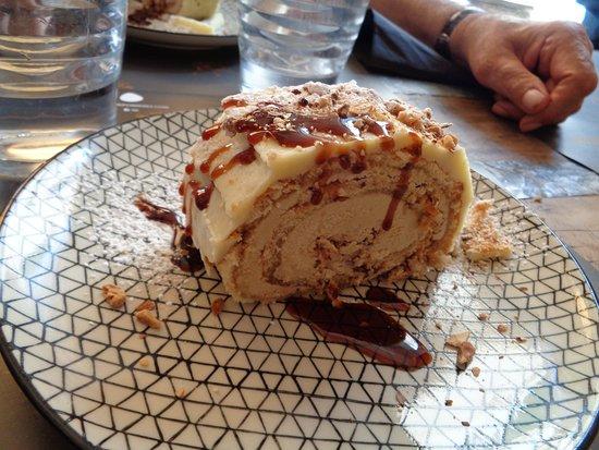 L'Escrivania: gâteau au café ety caramel