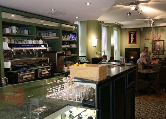 Tea-room De Proeverie: De Proeverie interior