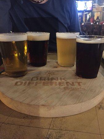 Galleon Pub: Degustazione birre