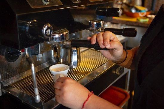 Antica Locanda Maregge: Buongiornissimo... kaffeeeè?!