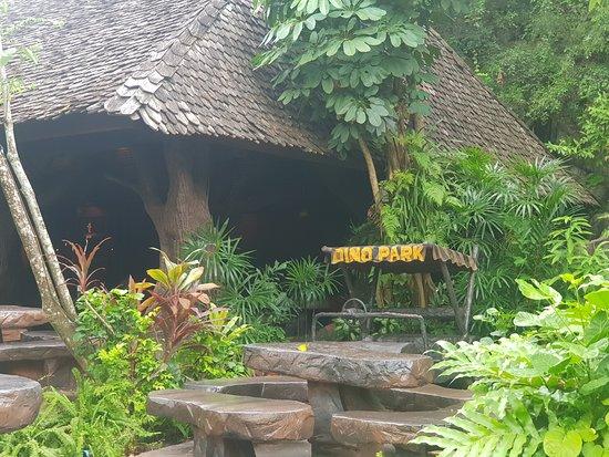 Dino Park: Inside area