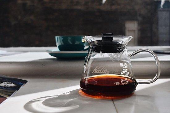 Joe's Coffee: Filter time