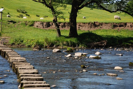 Inn at Whitewell: Stepping Stones