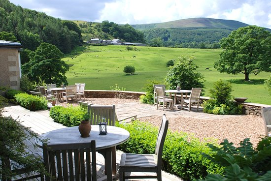 Inn at Whitewell: The Terrace