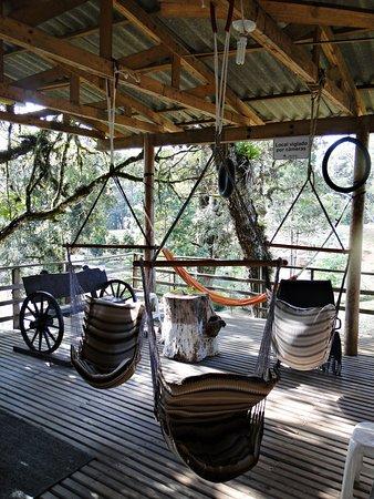 Hotel Recanto Paraíso da Serra : Varanda super agradável
