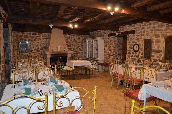 Hotel Posada Fuentes Carrionas: Comedor