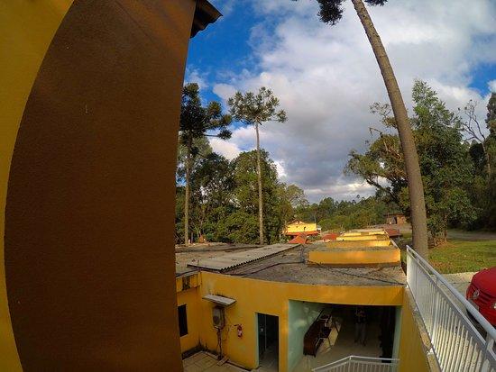 Hotel Recanto Paraíso da Serra : Vista do apartamento