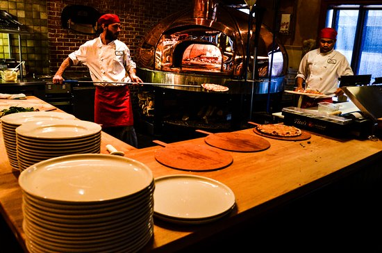 Gusto Italian Grill & Bar: Our Wood Burning Copper Oven
