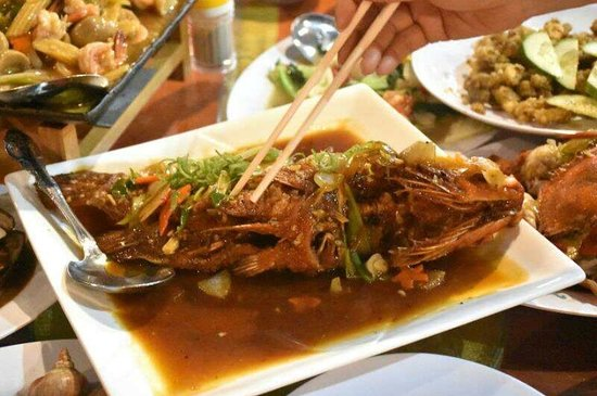 Kelong Mangrove Restaurant: Fish