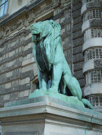 La Porte des Lions: Détail de la sculpture