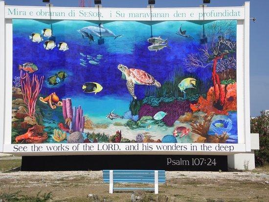 Explorer Tours Bonaire: Mural of Kralendijk