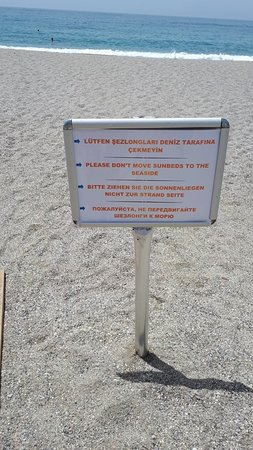 Kirbiyik Resort Hotel - Alanya : Нюансы территории отеля