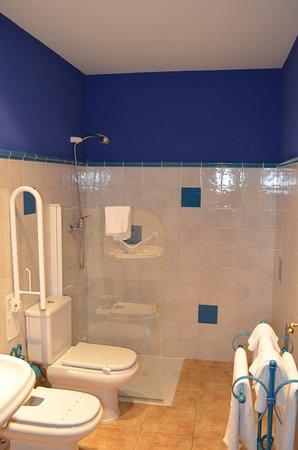 Hotel Posada Fuentes Carrionas: Baño