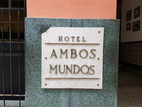 Ambos Mundos Hotel Restaurante : Cedule hotelu