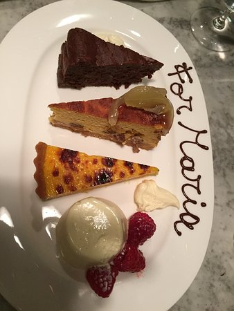 Theo Randall at the InterContinental: Dessert