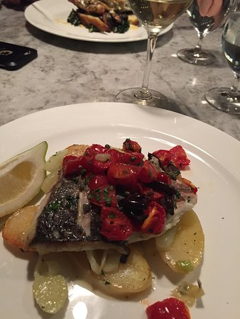 Theo Randall at the InterContinental: Pescatarian dish