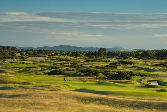 Carnoustie Golf Links: 16th Hole of The Carnoustie Championship Course