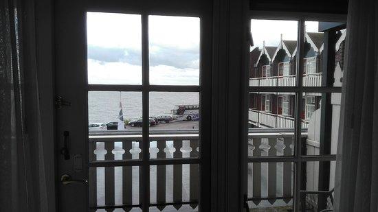 Vue sur la mer depuis la chambre