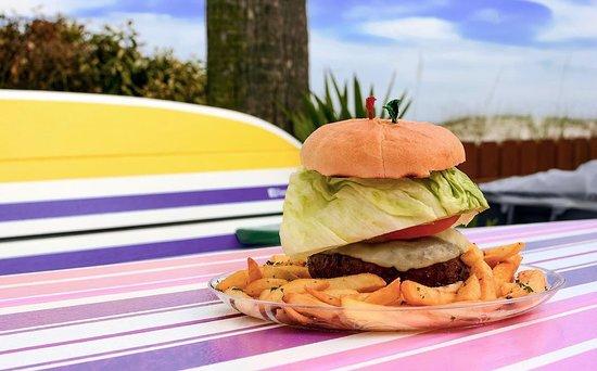 Lemon Bar: Beach Burger